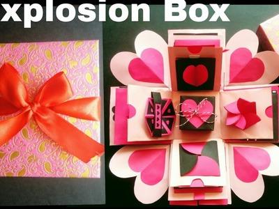 Explosion Box | DIY | Valentine's Day. Anniversary Gift Idea