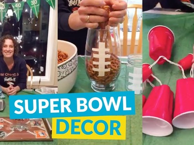 Get Your Home Ready For The Super Bowl With These DIY Ideas!