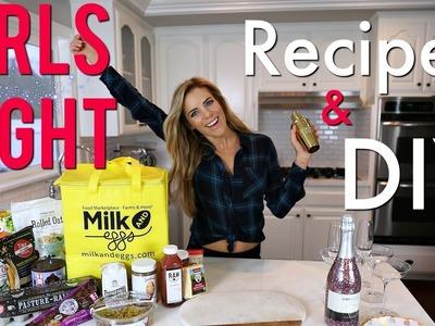 Girls Night In | DIY Healthy Snacks, Treats & Recipes!