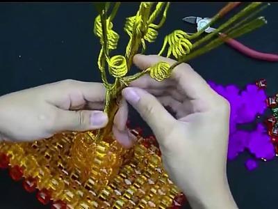 How to bead plant accessory:Peony Pachira, Rose Pachira Tutoreal 2016-17