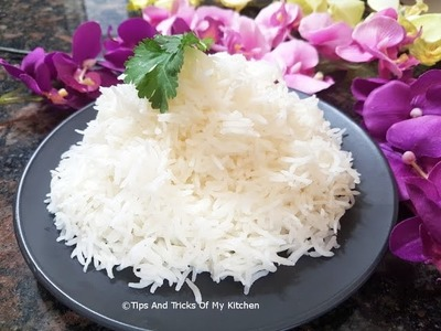 How To Cook Basmati Rice | How To Cook Perfect Rice Without Cooker | How To Cook Rice On Stove