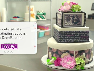 "How to Create an ""Our Love Story"" Wedding Cake Design"