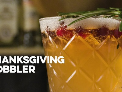 How to Drink: Thanksgiving Cobbler