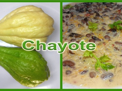 How to eat squash chayotes. Uses of squash (Chayote, Mirliton, Sechium edule)