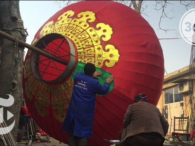 How to Make a Chinese Lantern | The Daily 360 | The New York Times