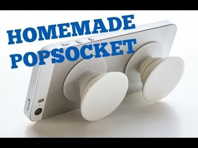 How To Make A Homemade Popsocket!!! Very Easy