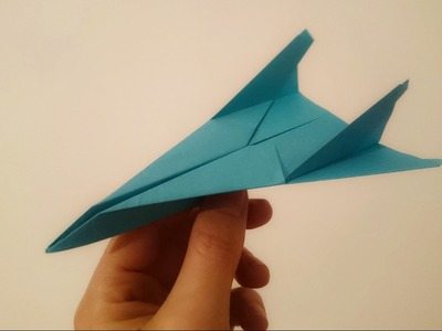 How To Make A Paper Airplane Jet That Flies Far And Fast Easy