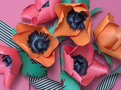 How to Make a Paper Flower Poppy