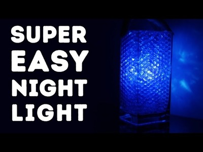 How to make a super easy night light! l 5-MINUTE CRAFTS