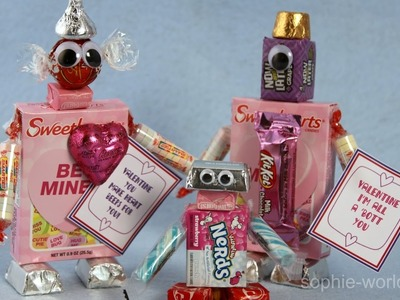 How to Make Candy Robots   Sophie's World