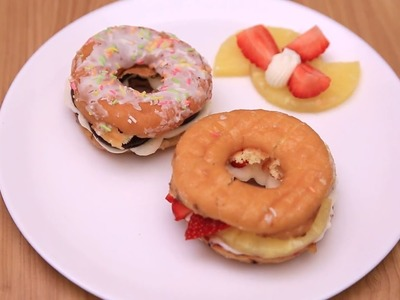 How To Make Donut Burgers | Dessert Ideas - POPxo Yum