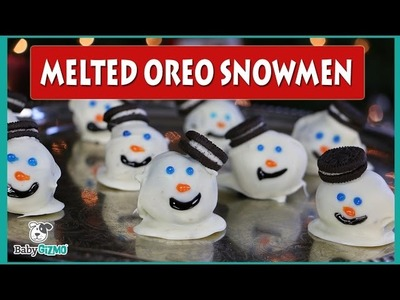 How to Make Melted Oreo Snowman Desserts | Best Recipes