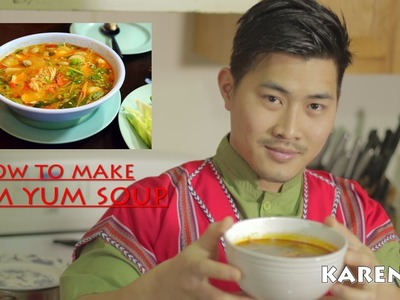 Karen1TV- How To Cook Tom Yum Soup by Sam Kitchen
