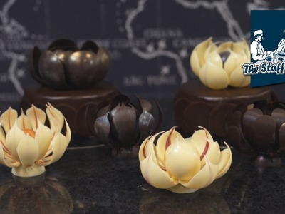 Mark Tilling: How to make chocolate flower decorations for cakes and centerpieces