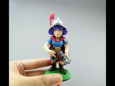 Musketeer CLASH ROYALE Polymer Clay Tutorial
