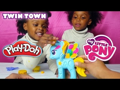 My Little Pony Rainbow Dash | Play Doh Fun!!
