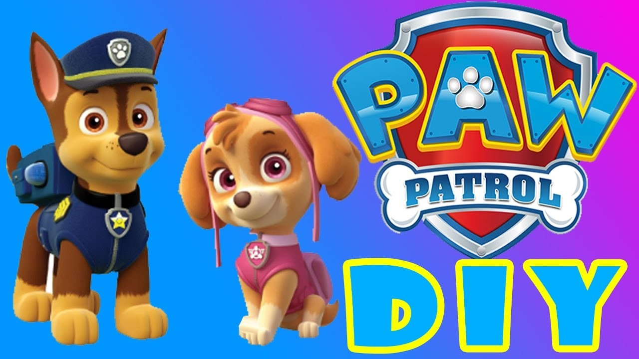 PAW PATROL DIY Stickers Dishes Super FUN EASY FOR KIDS