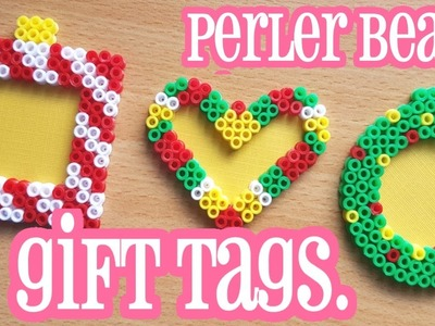 Perler Bead Gift Tags: Easy Christmas Tutorial!