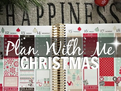 Plan With Me: Christmas