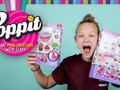 Poppit Clay Creations by Moose Toys   DIY Clay Craft Set
