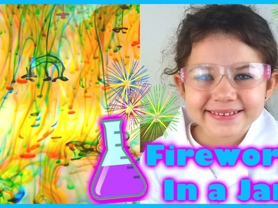 Science Experiments for Kids Projects DIY Fireworks How to Make Fireworks in a Jar The Science Kid