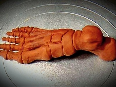 Sculpting a Foot in Polymer Clay 01