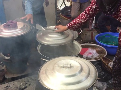 Top Food In My Village, How They Steamed Seafood ( Crabs, Fresh Shrimp, Otopus), My Country Food
