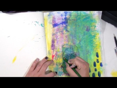 Using Carbon Paper in your art journal