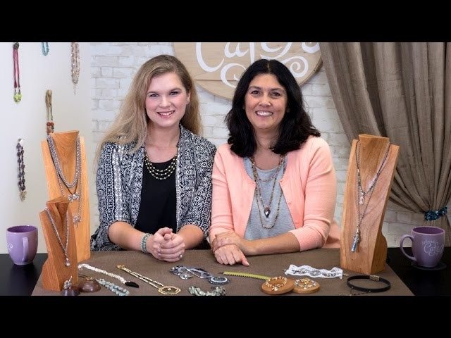 Artbeads Cafe - Video Game Inspired Jewelry with Cynthia Kimura and Becky