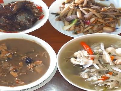 Asian Food - How To Make Healthy Banana Stem Soup With Fish In My Village - Khmer Traditional Food