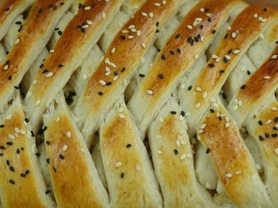 Chicken bread recipe | How to make chicken bread | quick & easy bread recipe