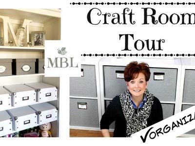 Craft Room Organization Tour