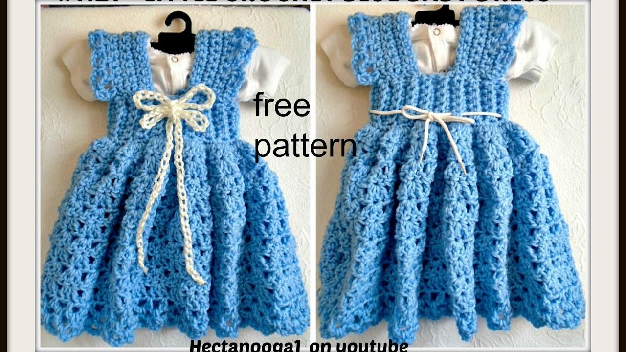 Crochet A Sundress Or Jumper 3 To 6 Months Free Pattern 1122yt