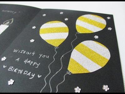 DIY : #169 Birthday Card ❤