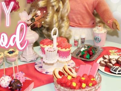 DIY AG FOOD! | DIY American Girl Valentines Day Treats