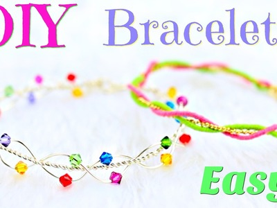 DIY bracelets | No Tools! | Simple DIY