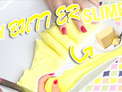 DIY BUTTER SLIME | easy to do butter slime | super quick and simple way to make butter slime