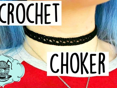 DIY Crochet Choker How To Tutorial ¦ The Corner of Craft