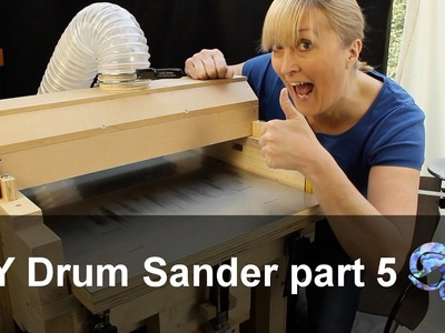 DIY Drum Sander part 5 - the final part