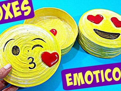 DIY Emoticons boxes (original gift) Valentine´s Day
