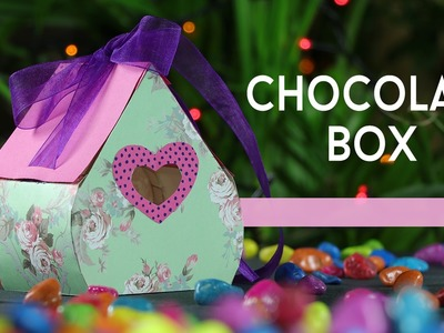 DIY Gift Box - How to Make Valentine Chocolate Gift Box Step By Step