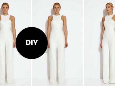 DIY I How To Make A Jumpsuit I Valentines Day Outfit Inspiration
