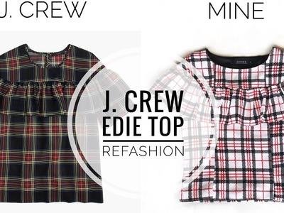 DIY: J. Crew Inspired Refashion