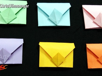 DIY Mini Envelopes Origami For Scrapbook Page | JK Arts 1171