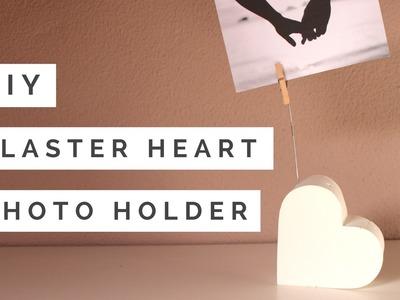 DIY - Plaster Heart Photo Holder || Valentine's Day
