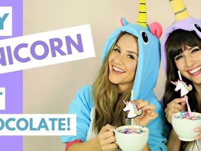 DIY Unicorn Hot Chocolate! (TRY THE TREND)