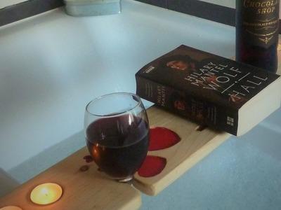 DIY Valentines Gifts Bath Shelf Stand & Phone holder - Pallet Wood Furniture