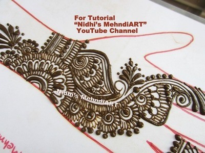 Easy DIY Arabic Mehndi Designs for Hands Tutorial- Henna Tattoo Art Creation Tips