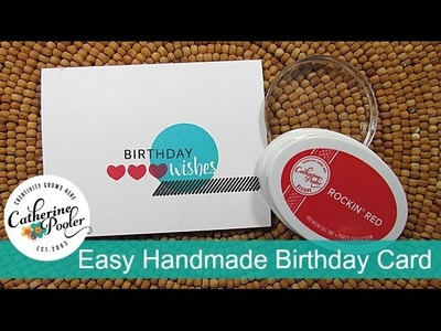 Easy Handmade Card with the Foundations Box
