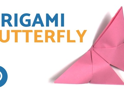 Easy ORIGAMI BUTTERFLY - Simple Paper Craft Instructions